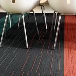 Carpetes modernos para ambientes comerciais