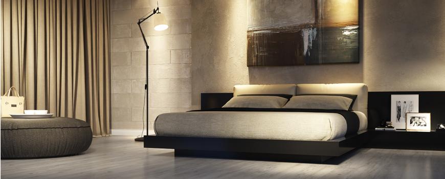 Quartos de hotel mais modernos com pisos laminados e for Pisos modernos 2016