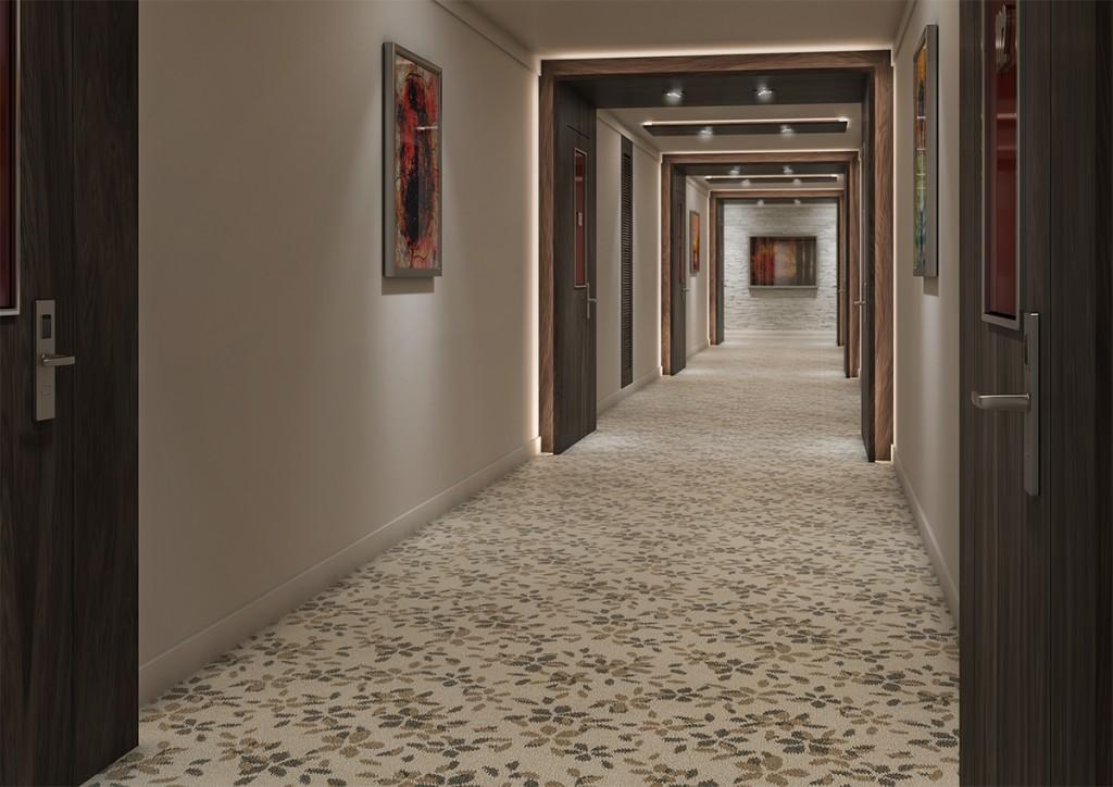 Carpete Colortuft floral