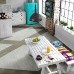 6 cozinhas decoradas com piso vinílico e piso laminado