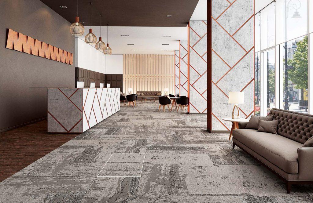 Carpete em placas Forge