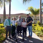 #EuAjudonaLata: Entrega da primeira cadeira de rodas