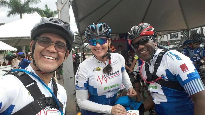 Equipe Uaimii Brasil Ride: Israel, Cristiane e Adriano