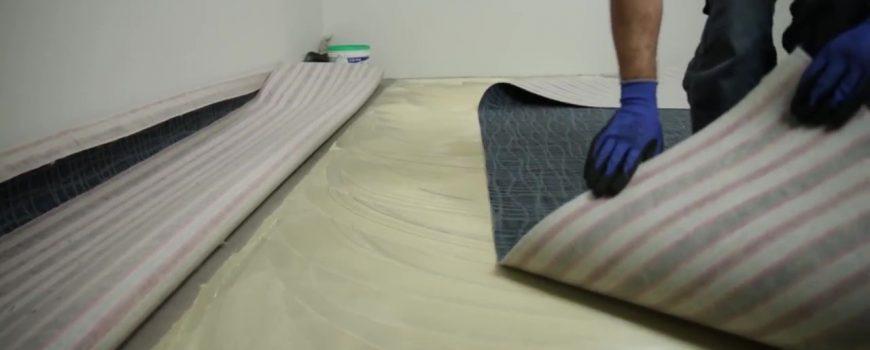 Sistema rápido de instalação de carpete_Moment 3