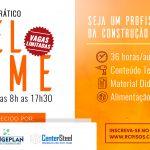 R Cervellini promove 3º turma do Curso Teórico e Prático de Steel Frame em Campinas/SP