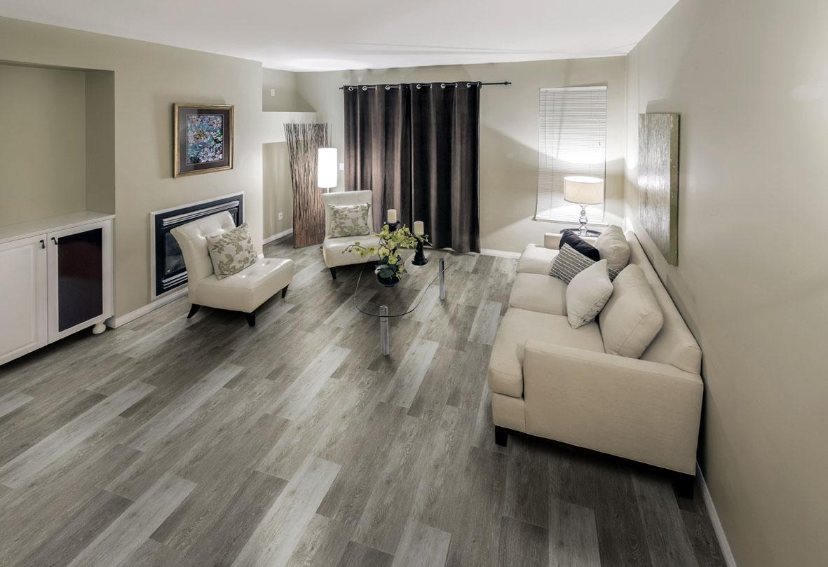 5 dicas de piso vinílico rústico para decorar a sala ...