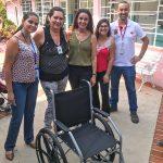 #EuAjudonaLata: ENTREGA DA SEGUNDA CADEIRA DE RODAS