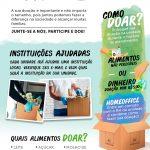 #RCervelliniJuntos: NOVA CAMPANHA DA RC PARA ARRECADAÇÕES DE ALIMENTOS